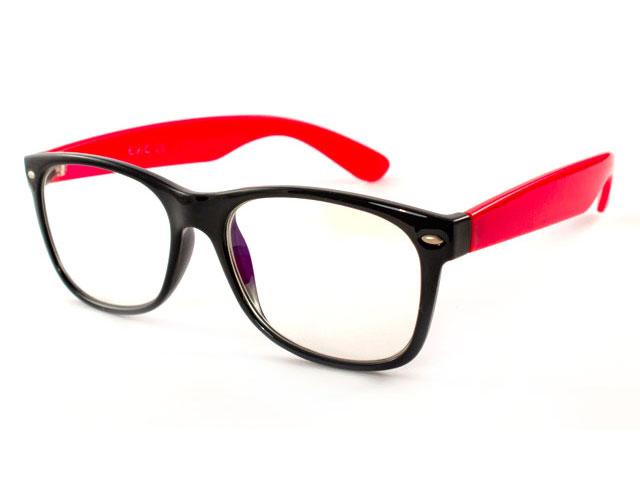 Компьютерные очки EAE B543-BLK-RED с футляром 101732