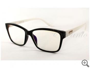Компьютерные очки EAE 2003-BLK-WHT с футляром 101728