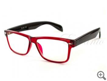 Компьютерные очки EAE B542-RED-BLK с футляром 101738