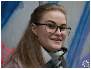 Компьютерные очки Blue Blocker MZ13-20-С01 на женщине фото